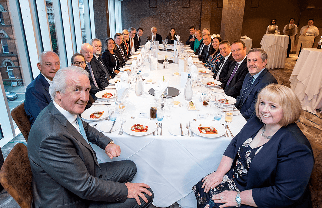 Community Foundation welcomes Bank of England Governor Mark Carney to NI