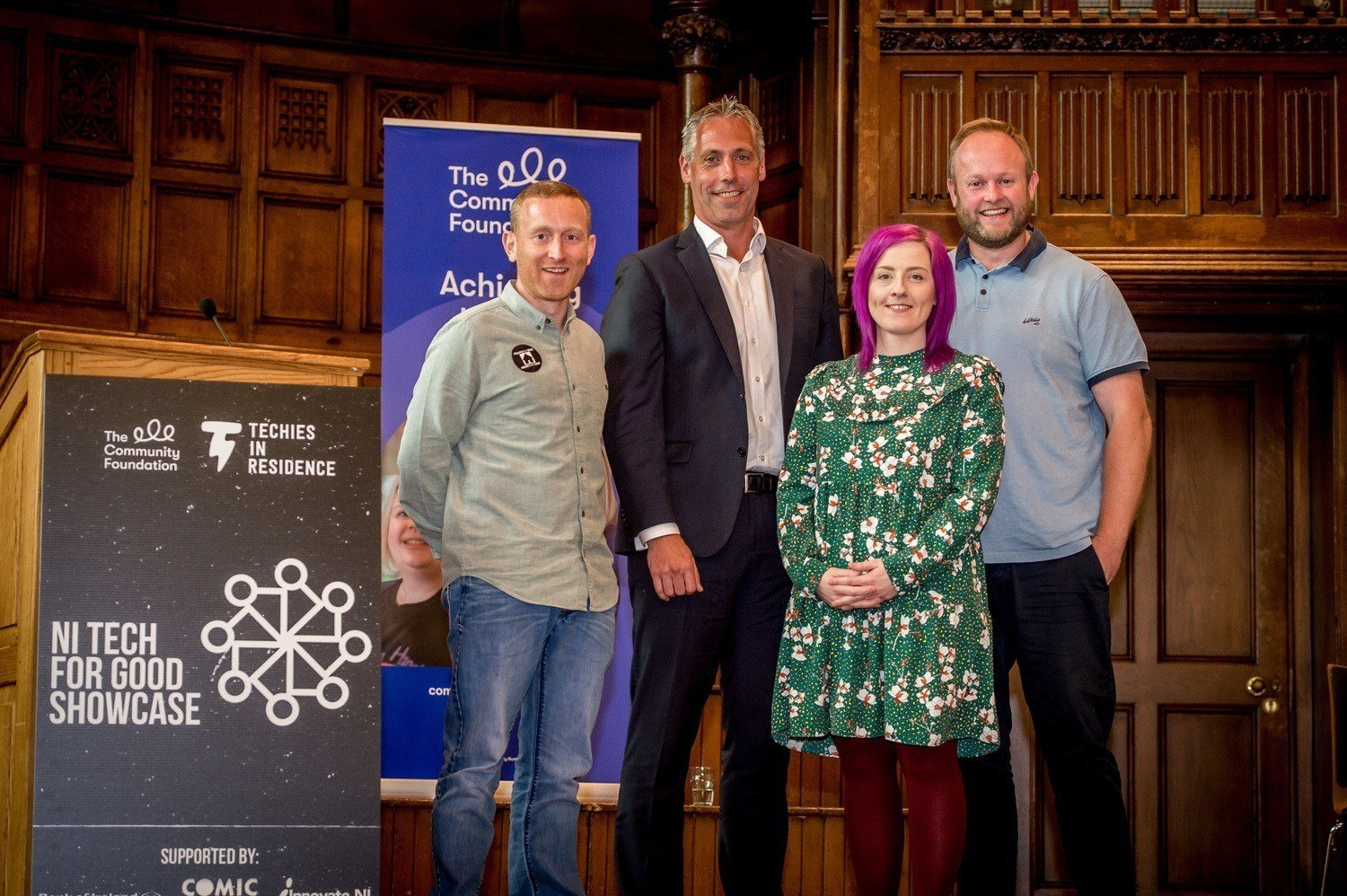 Techies in Residence Pitch for £25,000 Seed Fund