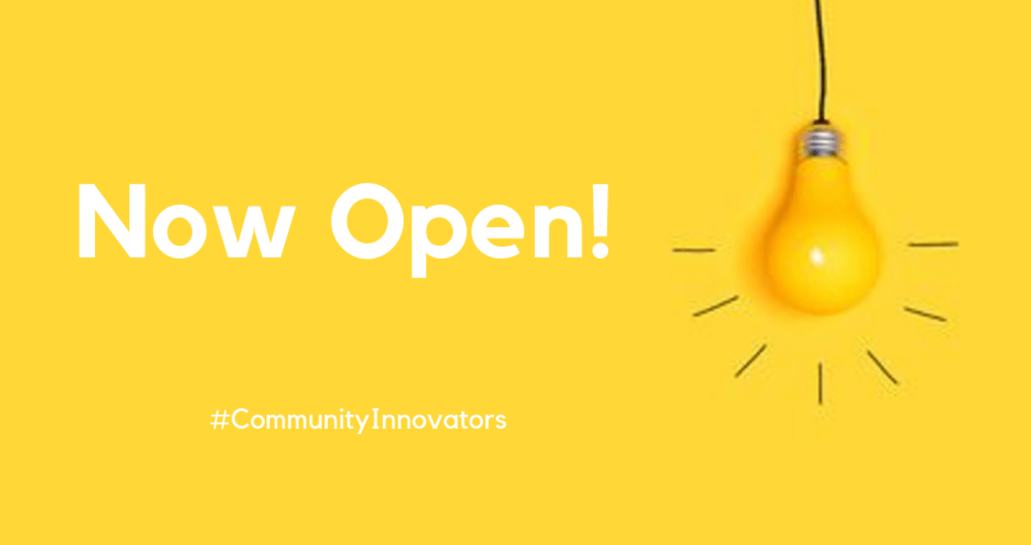 Community Innovators announces second burst of funding!