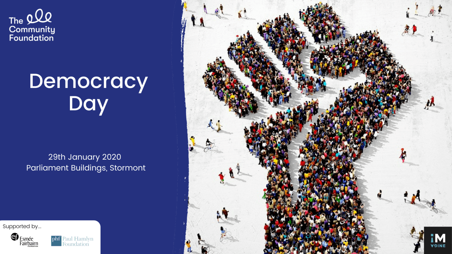 Democracy Day 2020 focused on increasing public participation in democratic decision making at Stormont