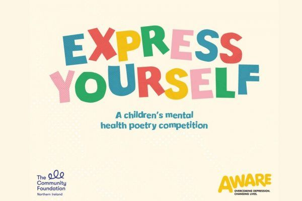 Aware NI encourage children to 'Express Yourself'