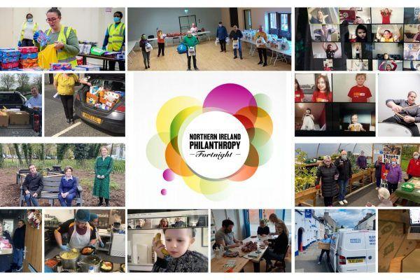 Philanthropy Fortnight 2021 celebrating the outburst of generosity during a pandemic