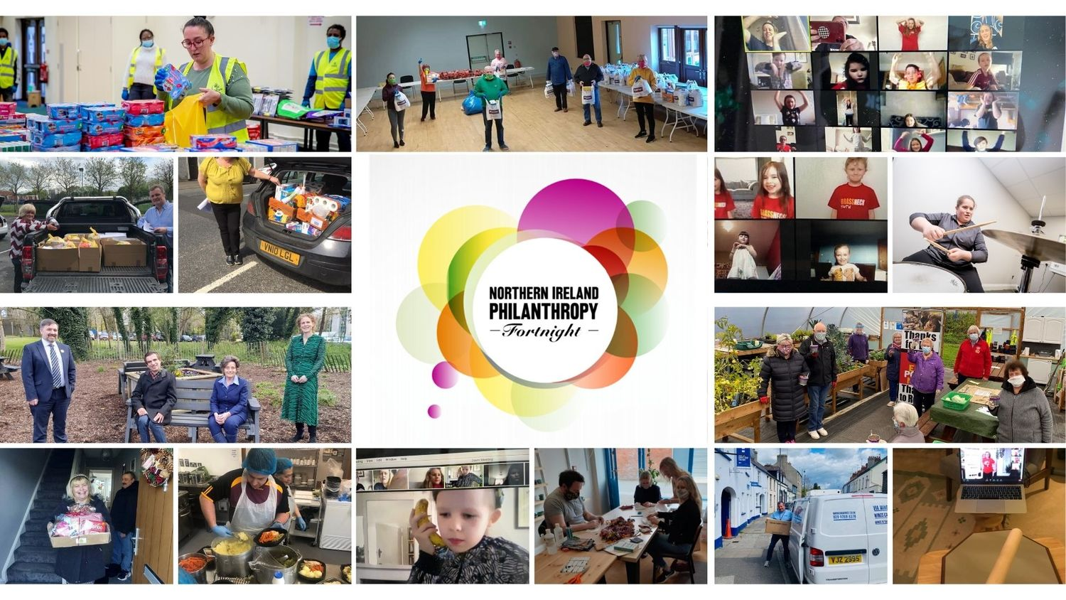Philanthropy Fortnight 2021 celebrating the outburst of generosity during a pandemic